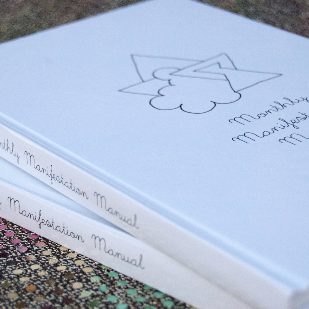 Monthly Manifestation Manual Hardback