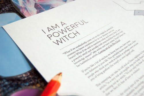 I Am A Powerful Witch