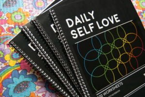 Daily Self Love Single Subject Spiral Bound Notebook
