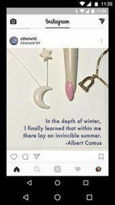 In the depth of winter, I finally learned that within me there lay an invincible summer. - Albert Camus