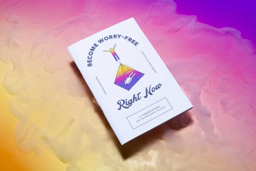 Become Worry-Free Right Now Zine and Digital Download