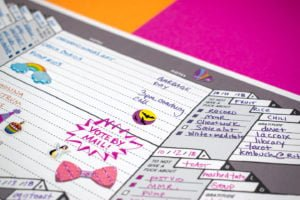 Monthly Magickal Record Weekly Planner