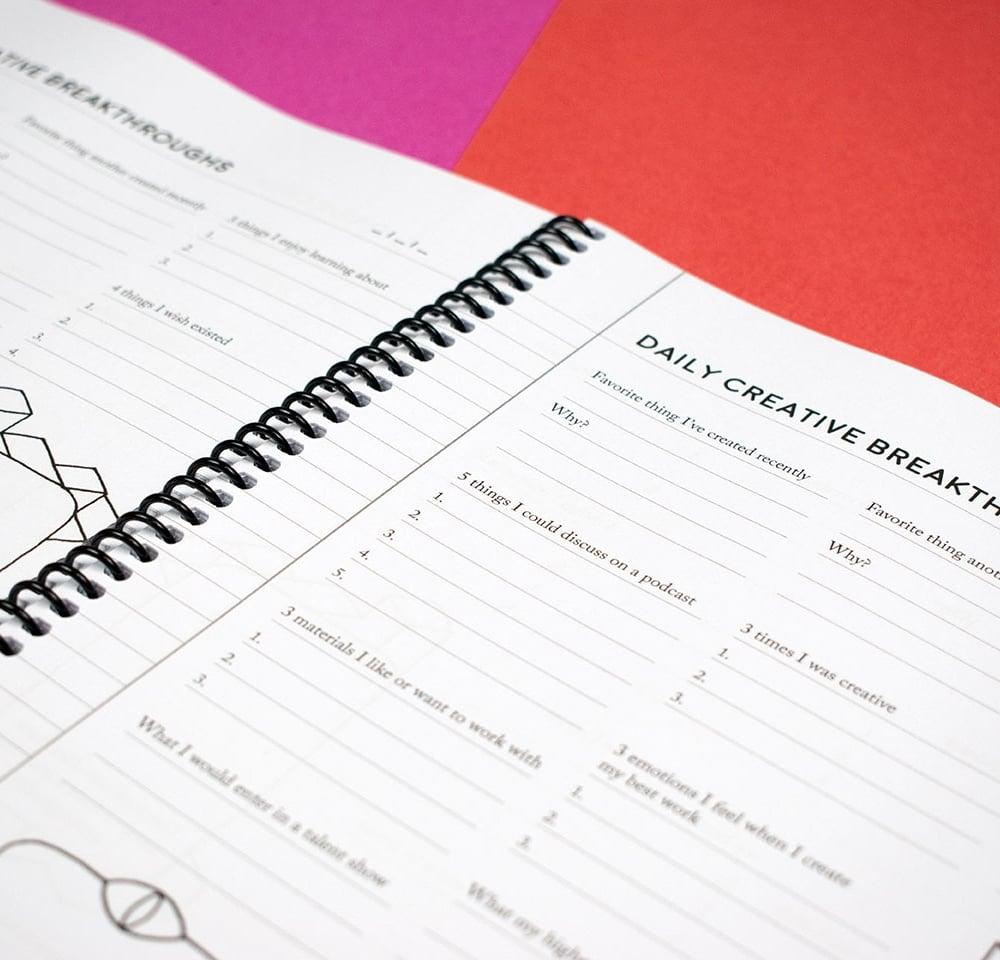Creative Breakthroughs Notebook
