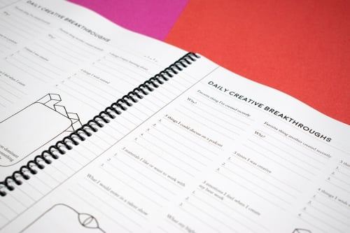 Creative Breakthroughs Notebook
