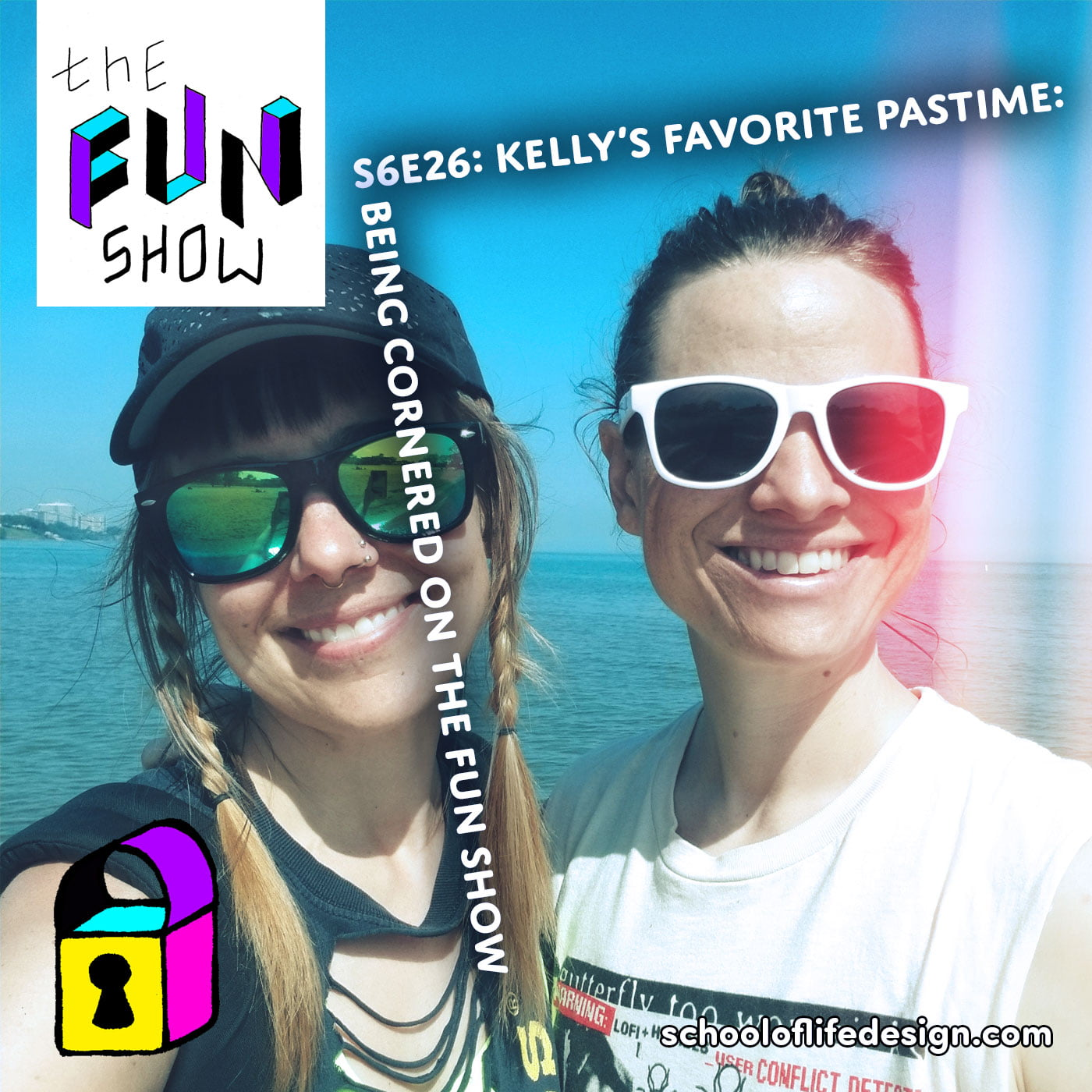 The Fun Show S6E26: Kelly's Favorite Pastime: Being Cornered on the Fun Show