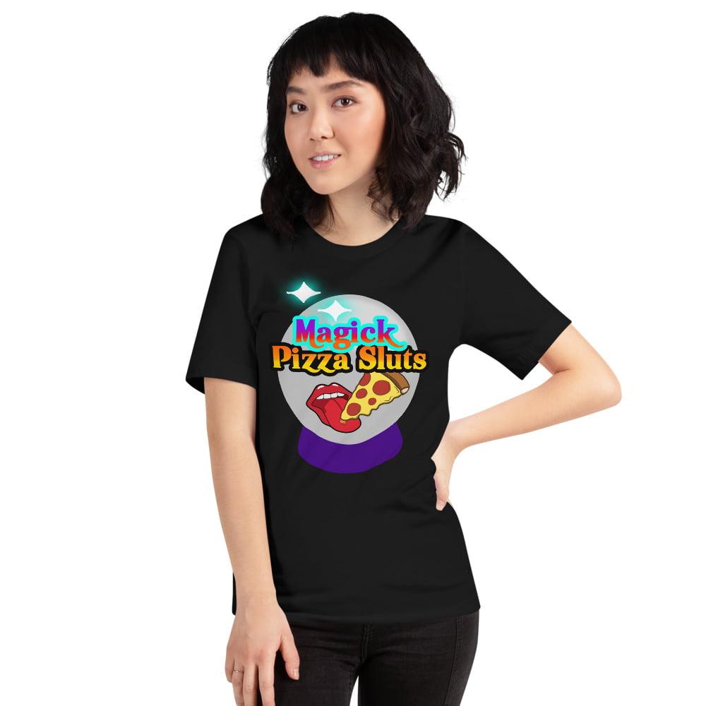 Magick Pizza Sluts tee